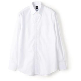 【シップス/SHIPS】 SD:【MONTI社製生地】カラミ イタリアンボタンダウン シャツ(ホワイト)