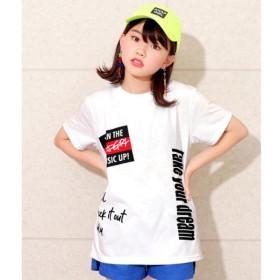 [マルイ]【セール】ストリート落書きTシャツ/アナップキッズ&ガール(ANAP KIDS&GIRL)