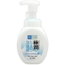 ロート製薬 極潤 ヒアルロン泡洗顔 160mL