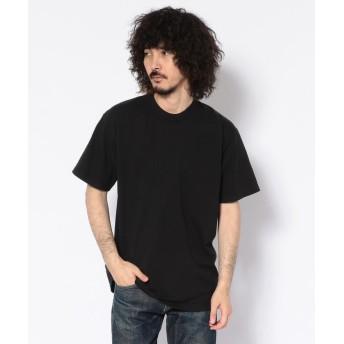 【30%OFF】 ビーバー LA APPAREL / ロサンゼルスアパレル GD SS TEE Tシャツ メンズ BLACK M 【BEAVER】 【セール開催中】