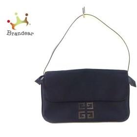 ジバンシー GIVENCHY ハンドバッグ - 黒 化学繊維   スペシャル特価 20190803
