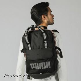 プーマ プライム バックパック (076184 01) デイパック : ブラック×ピンク PUMA