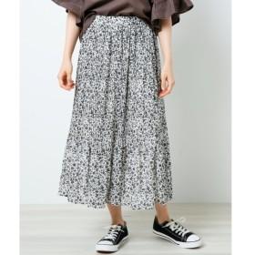 [マルイ]【セール】単色花柄消しプリーツスカート/レイカズン(RAY CASSIN)