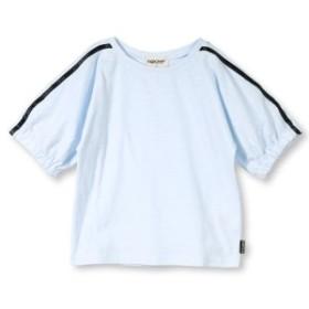ブランシェス(branshes)/【プチプラ】ライン使い半袖Tシャツ