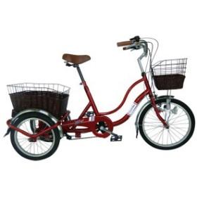 送料無料 SWING CHARLIE911 ノーパンク 三輪自転車G スイング機能 20インチ/16インチ MG-TRW20NG ノーパンクタイヤ 自転車 メーカー直送