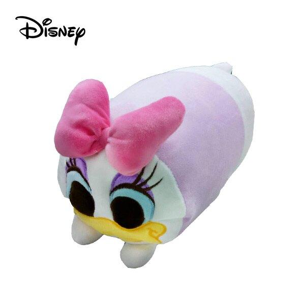 【日本正版】黛西 圓筒 抱枕 28cm 靠枕 午睡枕 Daisy 迪士尼 Disney - 112502