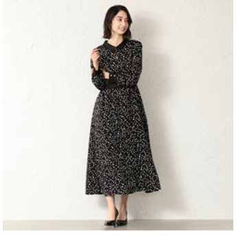 【LOVELESS:ワンピース】【GUILD PRIME】WOMEN スタープリント2WAYシャツワンピース