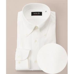 エンタージー クールマックスハニカムシャツ メンズ ホワイト系 41 【enter G】