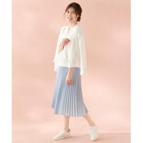 自由区(ジユウク)/GARUDA TWILL プリーツスカート