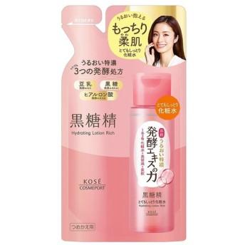 コーセー 黒糖精 とてもしっとり化粧水 つめかえ 160ml 4971710392821(tc)