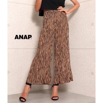 【セール開催中】ANAP(アナップ)総柄ワイドパンツ
