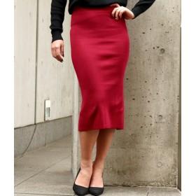 anap Latina(アナップラティーナ)/バックディープスリットタイトニットスカート