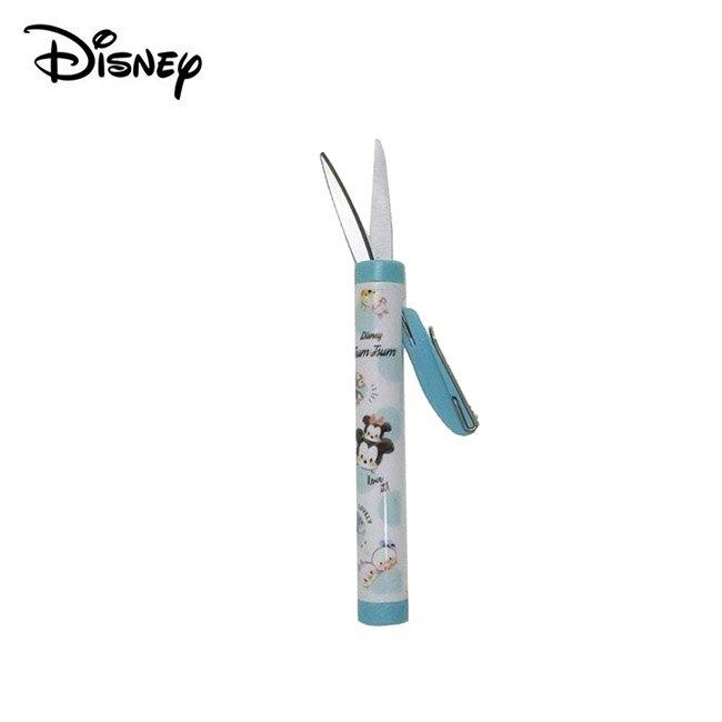【日本正版】TSUM TSUM 攜帶型剪刀 隨身剪 不鏽鋼剪刀 安全剪刀 迪士尼 Disney - 099230