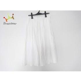 グランマママドーター GRANDMA MAMA DAUGHTER ロングスカート サイズ1 S レディース 白 刺繍   スペシャル特価 20190905