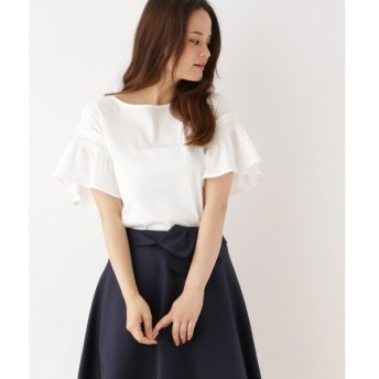 Couture Brooch / クチュールブローチ 【WEB限定サイズ(LL)あり】フレア袖プルオーバー