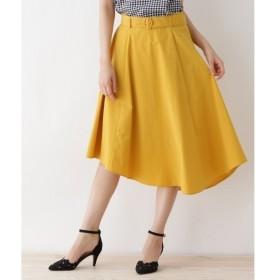 Couture Brooch / クチュールブローチ 【WEB限定サイズ(LL)あり】ラウンドヘムカラースカート