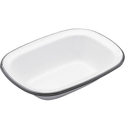 KitchenCraft 復古琺瑯烤盤(長18cm)