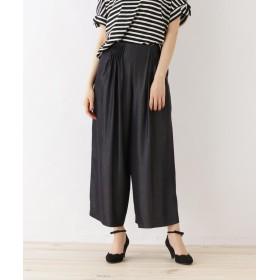 Couture Brooch(クチュールブローチ) 【WEB限定サイズ(LL)あり】タック入りワイドパンツ