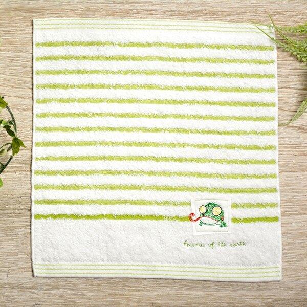 日本今治 - KONTEX - Mag小毛巾(變色龍) 日本設計製造