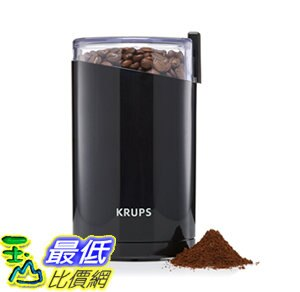 [106美國直購] 咖啡磨豆機 KRUPS F203 Electric Spice and Coffee Grinder 3-Ounce, Black_cc3