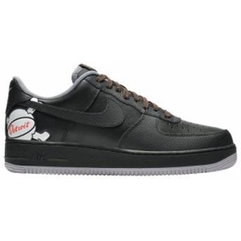 ナイキ Nike メンズ スニーカー シューズ・靴 Air Force 1 LV8 Black/Black/Atmosphere Grey/Turf Orange City Pride Detroit / Away