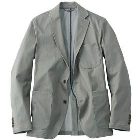 【メンズ】 全方向ストレッチ素材のテーラードジャケット(ワンダーシェイプ®) - セシール ■カラー:グレー系 ■サイズ:M,LL,L,3L,5L