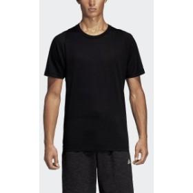【セール】 アディダス メンズスポーツウェア 半袖シャツ M ID ジャガード Tシャツ FRX72 DU1119 メンズ ブラック