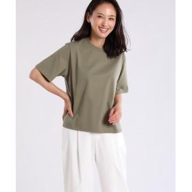 7-ID concept ラウンドネックコットンTシャツ