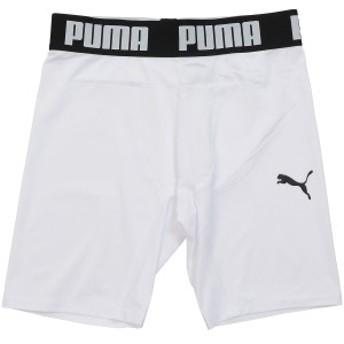プーマ サッカー ジュニアインナーパンツ コンプレッション ジュニアショートタイツ 65633404 ボーイズ プーマ ホワイト/プーマ ブ...