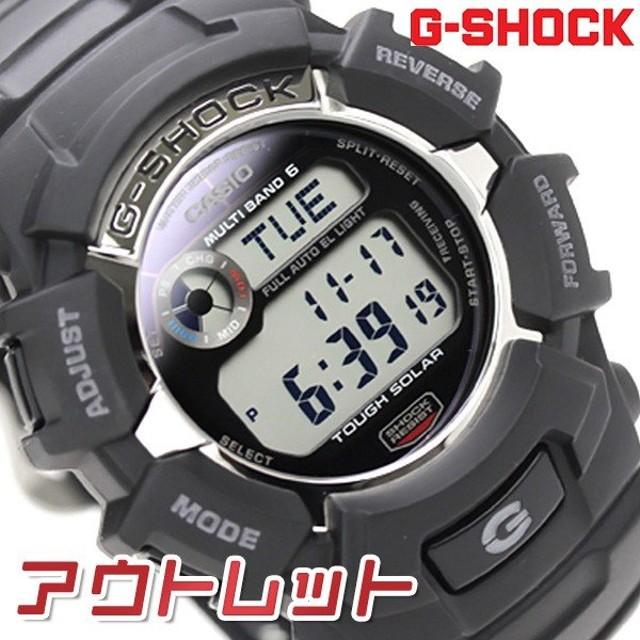 hot sale online e9c6e 84655 アウトレット】G-SHOCK ブラック 黒 電波 ソーラー メンズ ...