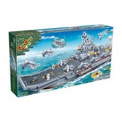 【BanBao 積木】戰爭系列-遼寧號母艦 8419