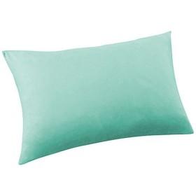 のびのび枕カバー(封筒型・Tシャツ素材) - セシール ■カラー:ブルー コーラル ラベンダー