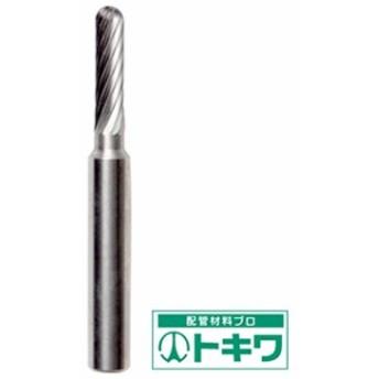NRS 超硬バー 軸径6(mm)砲弾Sカット TCBT3300-6 ( 4354745 )