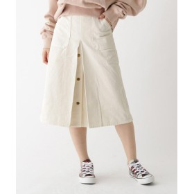 Couture Brooch(クチュールブローチ) Lee ミモレコーデュロイスカート