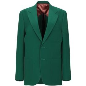 《期間限定セール開催中!》GUCCI レディース テーラードジャケット グリーン 48 ウール 100%