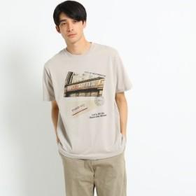 [マルイ]【セール】プリント×カラー刺しゅうTシャツ/ザ ショップ ティーケー(メンズ)(THE SHOP TK Mens)