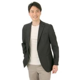 【洋服の青山:ジャケット】【セットアップ】【コットン混】スタイリッシュジャケット