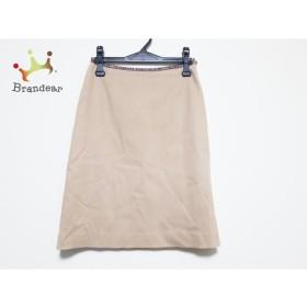 ジユウク 自由区/jiyuku スカート サイズ36 S レディース 美品 ベージュ×ブラウン  値下げ 20190907