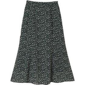 【5,000円以上お買物で送料無料】セミフレアスカート