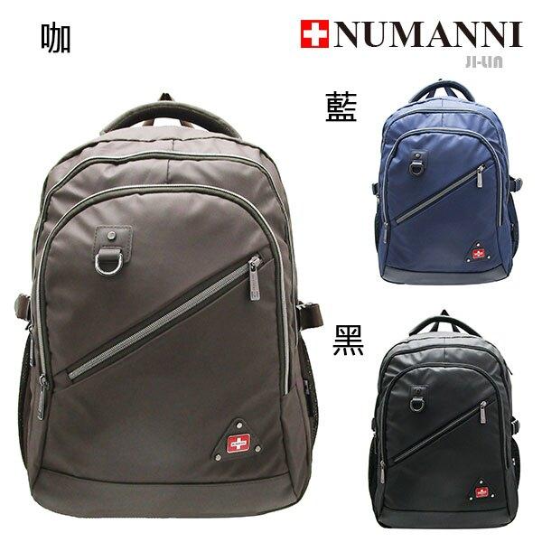 86-036A【NUMANNI 奴曼尼】高尚歐式風格後背包 (三色)