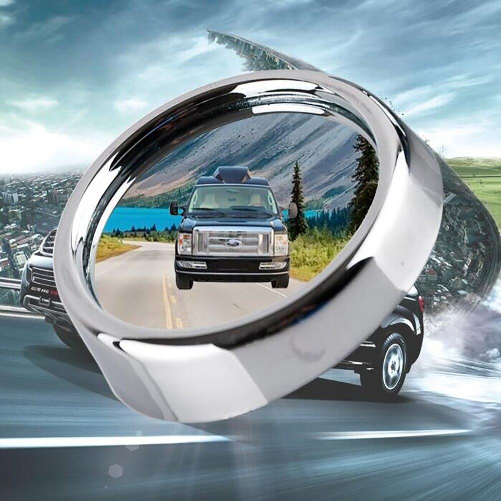 【威力鯨車神】車用後視廣角小圓鏡(隨機出貨)