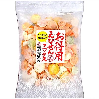岡田屋製果 綜合蝦仙貝(220g)