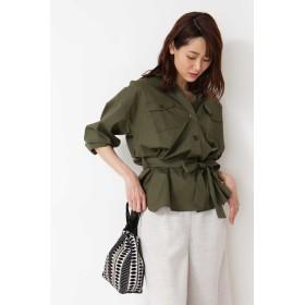NATURAL BEAUTY BASIC(ナチュラルビューティーベーシック)/[洗える]ライトシャツジャケット