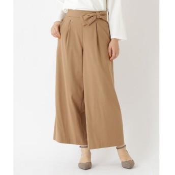 Couture Brooch / クチュールブローチ 【WEB限定サイズ(S・LL)あり】リボン付きワイドパンツ