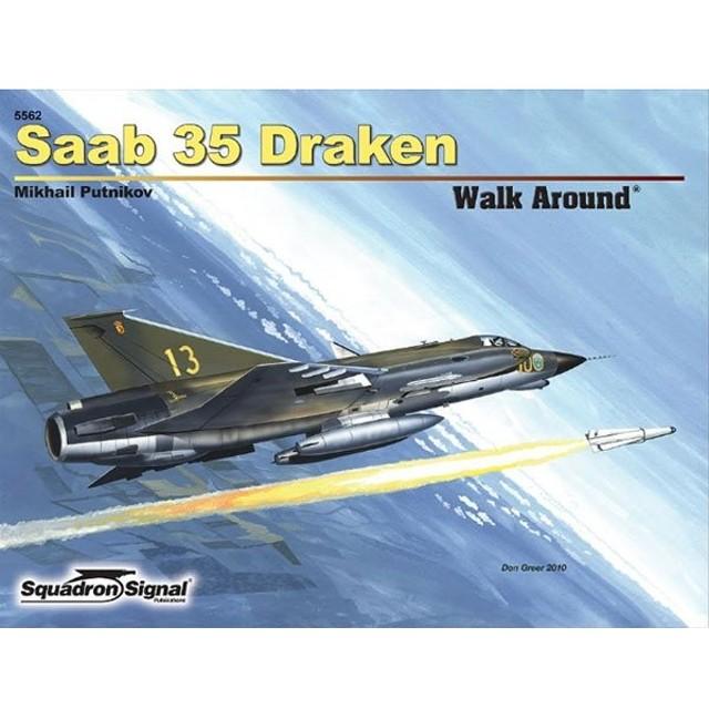 サーブ 35 ドラケン ウォークアラウンド(ソフトカバー版) (書籍)[SQUADRON SIGNAL]《在庫切れ》