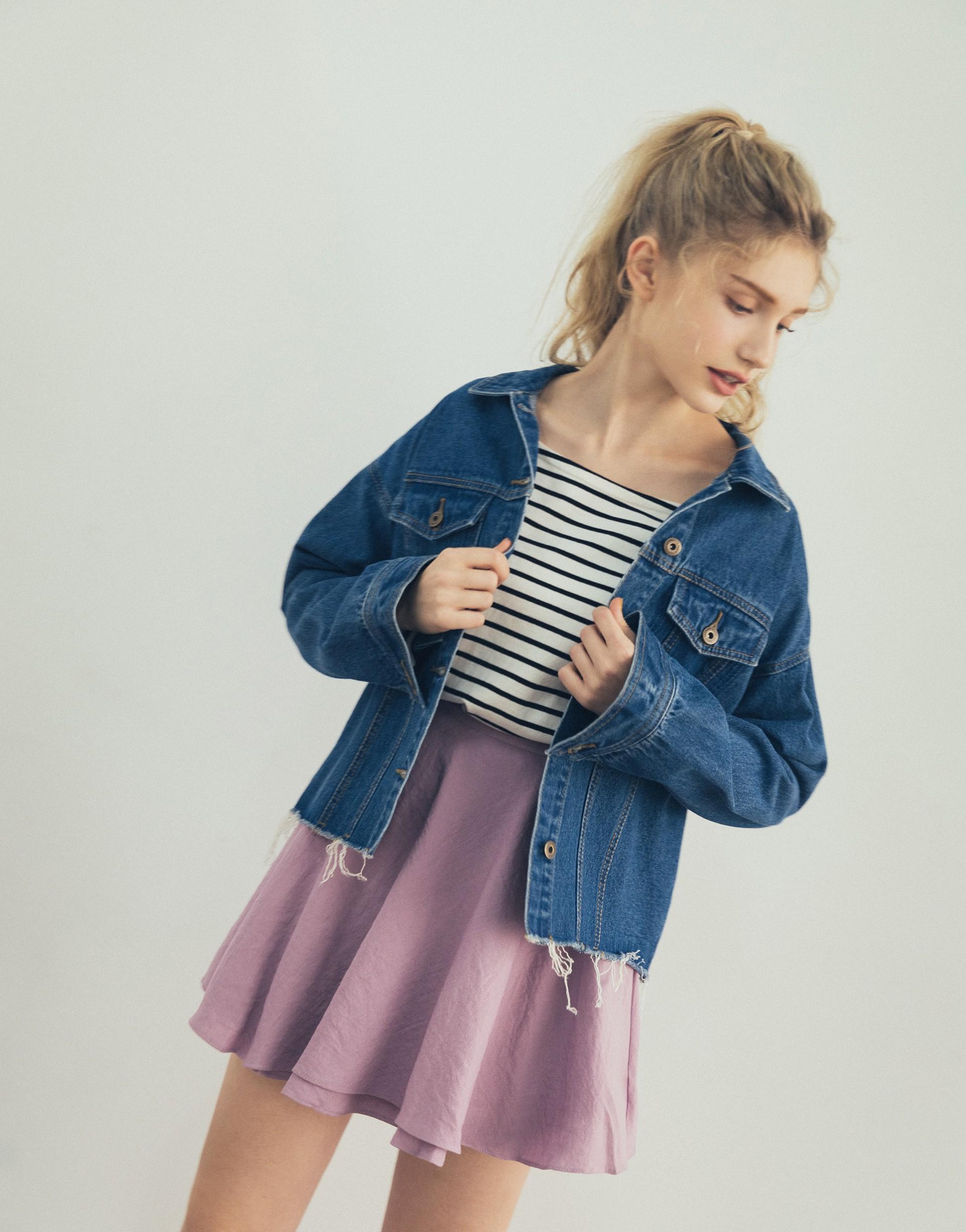 小巴黎女孩傘擺短裙-PAZZO