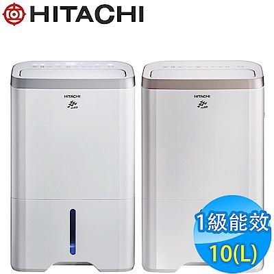 HITACHI日立 10L 1級LED觸控負離子清淨除濕機 RD-200HS