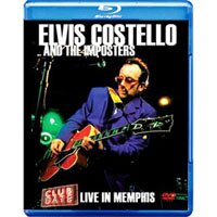 艾維斯.卡斯堤洛:曼菲斯現場演唱會 Elvis Costello: Club Date - Live in Memphis  (藍光Blu-ray) 【Evosound】