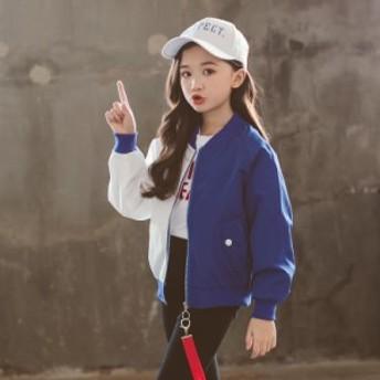 ジャケット ダンス 衣装 ヒップホップ キッズ 女の子 アウター 子供服 ジップアップパーカー ジャケット ブルゾンジャンパー 可愛い 入