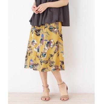 SOUP / スープ ◆【WEB限定サイズあり】配色フラワー総柄スカート